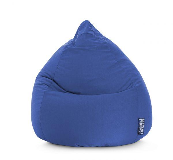 Beanbag Easy XL donkerblauw  SittingBags.nl