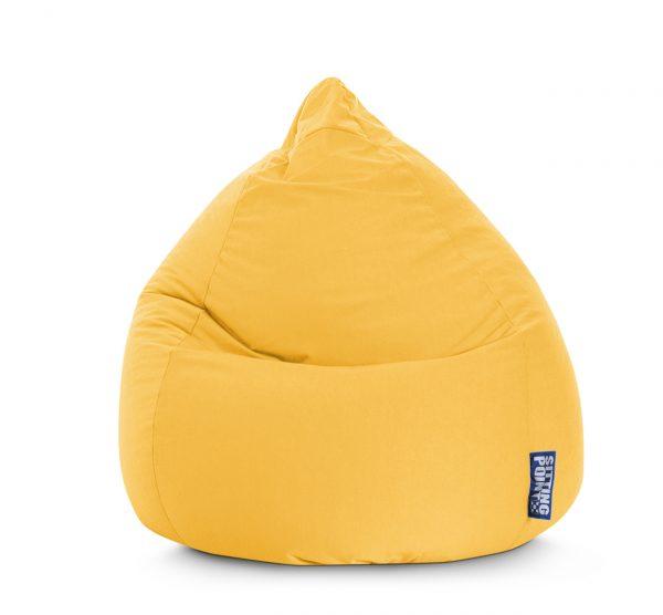 Beanbag Easy XL Geel1  SittingBags.nl