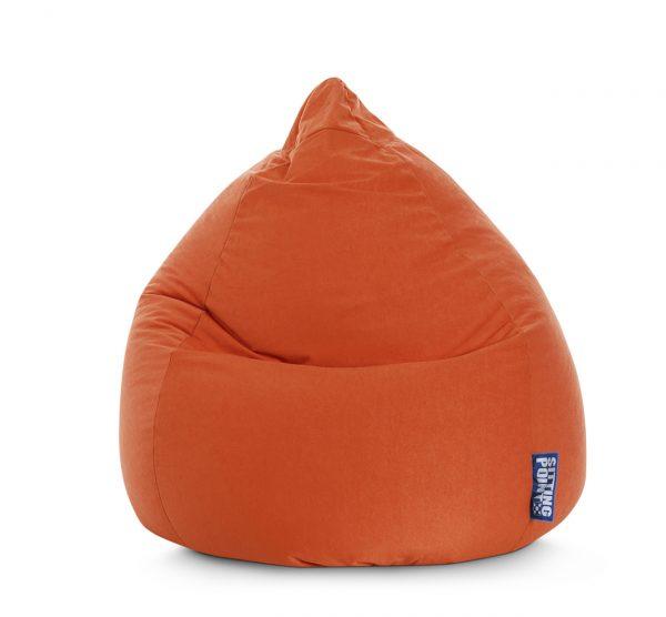 Beanbag Easy XL Oranje1  SittingBags.nl