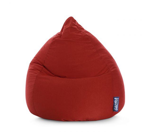 Beanbag Easy XL Rood1  SittingBags.nl