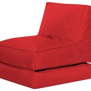 Lounge zitzak Rood | sittingbags.nl