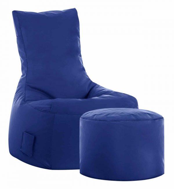 zitzak stoel blauw sittingbags.nl