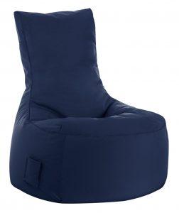 zitzak stoel Jeans Blue sittingbags.nl