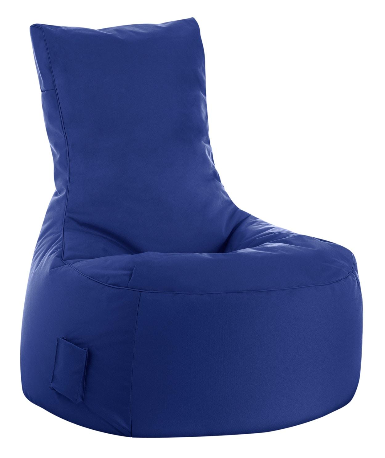 Zitzak Kleur Blauw.Zitzak Stoel Buiten Blauw Sitting Bags