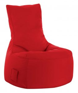 zitzak stoel rood sittingbags.nl