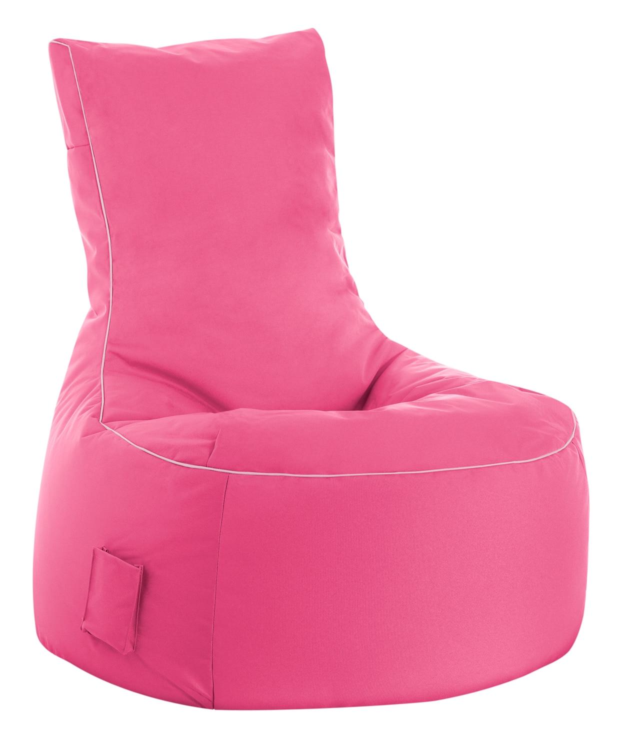 zitzak stoel buiten roze sitting bags. Black Bedroom Furniture Sets. Home Design Ideas