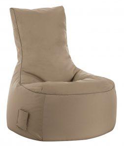 zitzak stoel buiten khaki sittingbags.nl