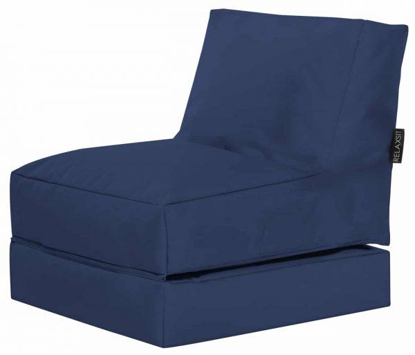 Lounge zitzak Blauw sittingbags.nl