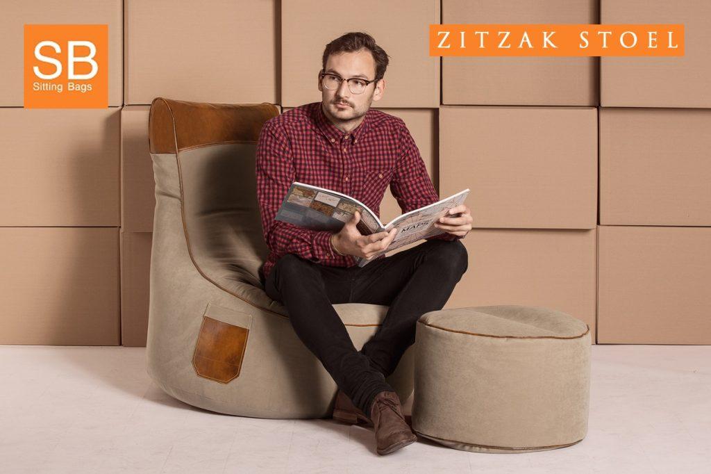 Zitzak stoel SittingBags.nl