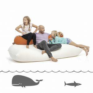 terapy zitzak baloo lichtgrijs. Black Bedroom Furniture Sets. Home Design Ideas