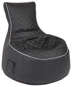 zitzak stoel berlin zwart sittingbags.nl