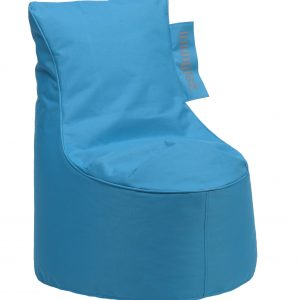 Zitzak Stoel Junior blauw | Loungies | SittingBags.nl