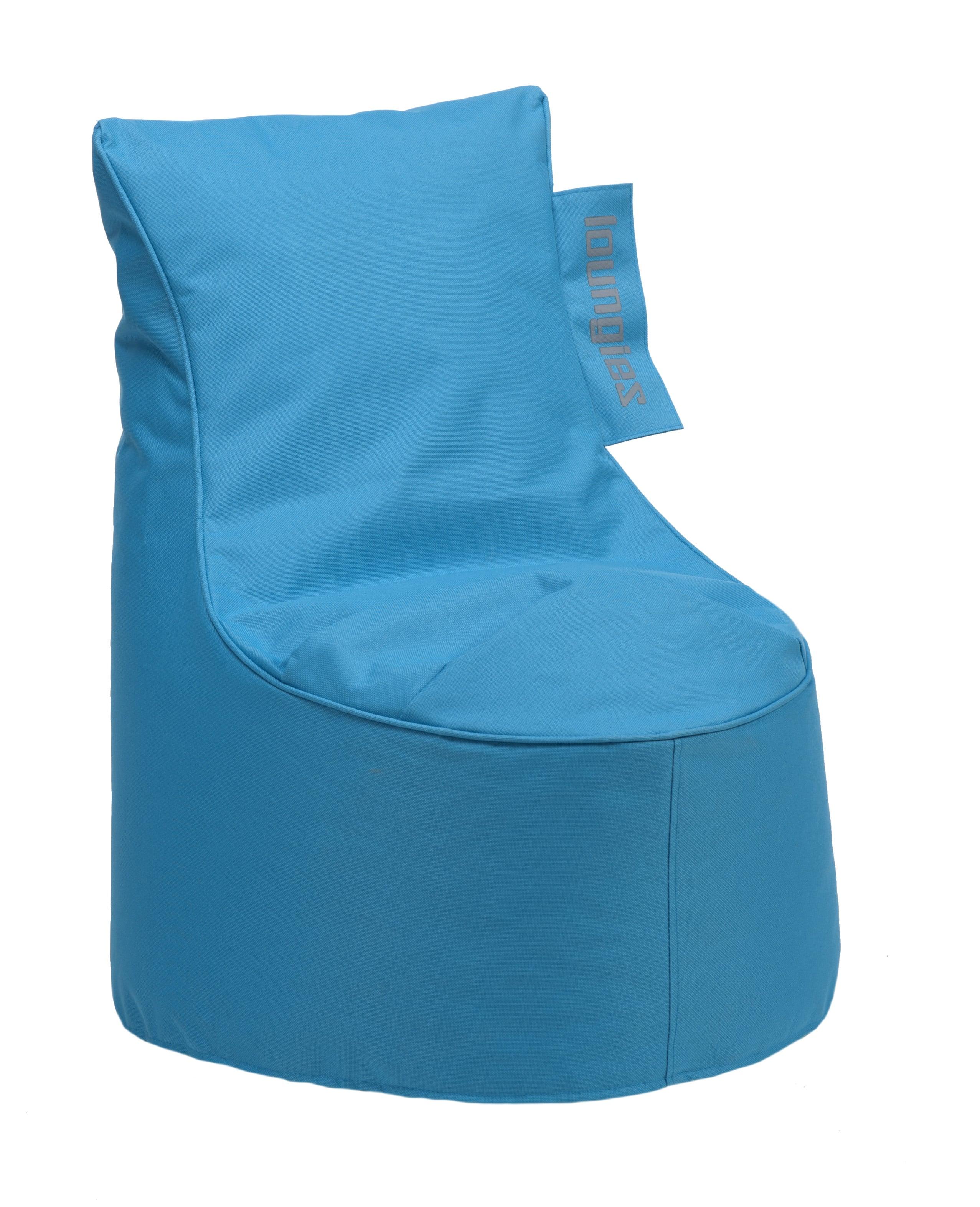 Aqua Blauwe Zitzak.Loungies Zitzak Stoel Junior Blauw Sittingbags Nl