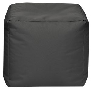 Vierkante Poef Antraciet | Sittingbags