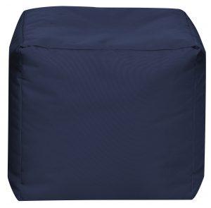 Vierkante Poef Jeansblauw | Sittingbags