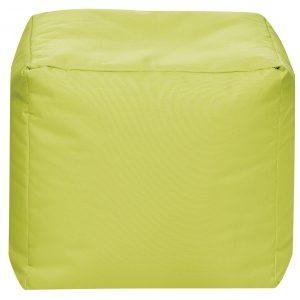 Vierkante Poef Groen | Sittingbags