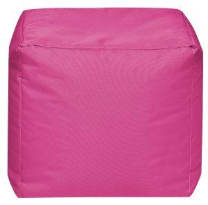 Vierkante Poef Roze | Sittingbags