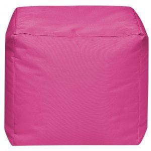 Vierkante Poef Roze   Sittingbags