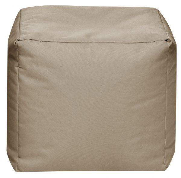 Vierkante Poef Khaki   Sittingbags