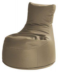 Zitzak stoel bruin premium | SittingBags.nl