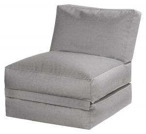 Lounge zitzak grijs premium | Sittingbags.nl