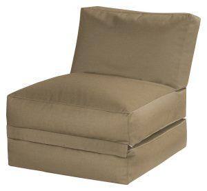 Lounge zitzak bruin premium basis