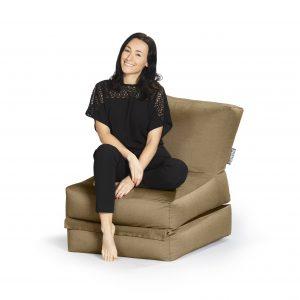Lounge zitzak bruin premium | SittingBags.nl