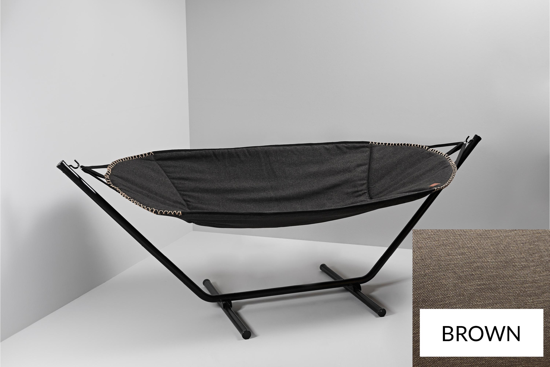 Hangmat Met Stevig Frame.Sackit Cobana Hangmat Bruin Sittingbags Nl