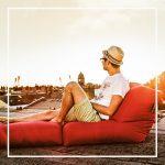 BANNER lounge zitzak zon