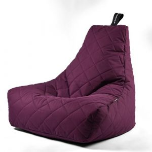 B-Bag Mighty-B Quilted Zitzak Berry
