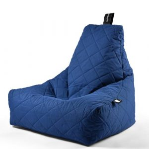 B-Bag Mighty-B Quilted Zitzak Blue