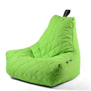 B-Bag Mighty-B Quilted Zitzak Lime