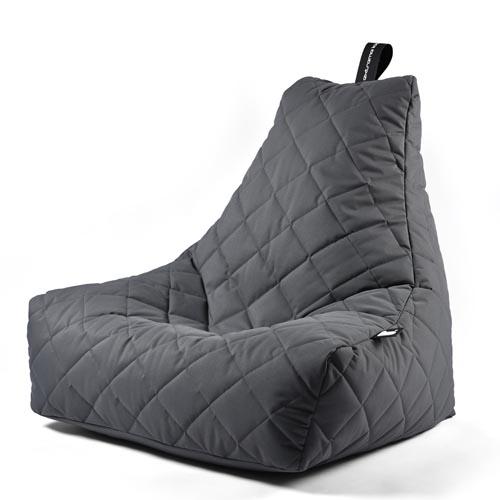B-Bag Mighty-B Quilted Zitzak Grey