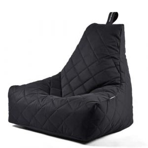 B-Bag Mighty-B Quilted Zitzak Black