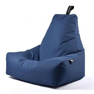 B-Bag Mighty-B Basic Zitzak Blue