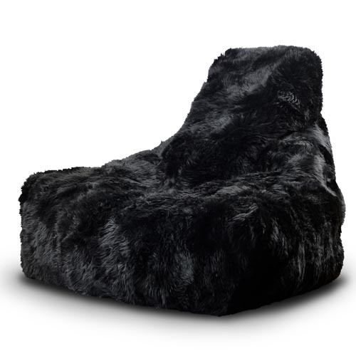 B-Bag Mighty-B Furbag Zitzak Black