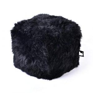 B-Bag Sheepskin Fur Box Black