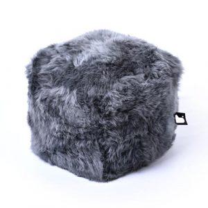 B-Bag Sheepskin Fur Box Grey