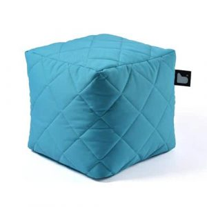 B-Box Mighty-B Quilted Poef Light Blue
