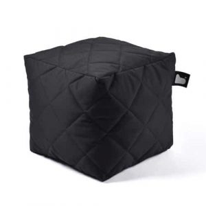 B-Box Mighty-B Quilted Poef Black