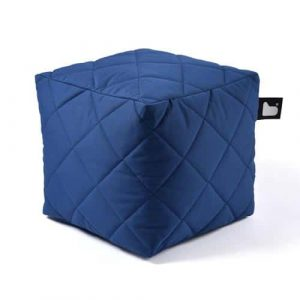 B-Box Mighty-B Quilted Poef Blue