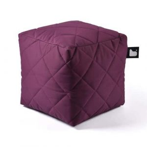 B-Box Mighty-B Quilted Poef Purple