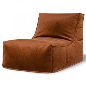 Rock Veluto Koper zitzak stoel binnen Sitting Point