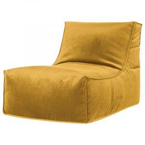 Rock Veluto Mosterd zitzak stoel binnen Sitting Point