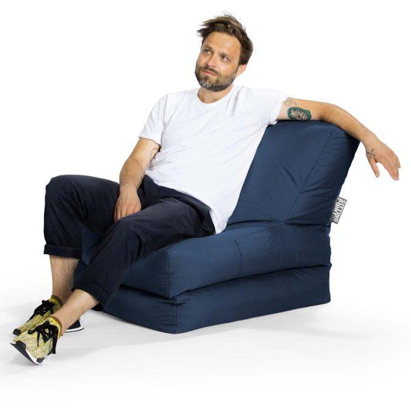 jeans blue lounge zitzak