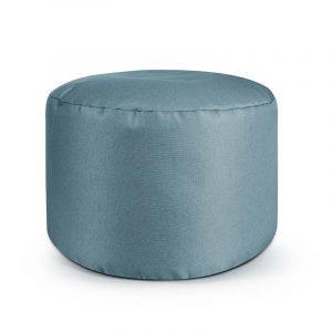 Sitting Point Poef Dotcom Keiko - Grijsblauw