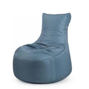 Sitting Point Zitzak Stoel Swing Keiko - Grijsblauw