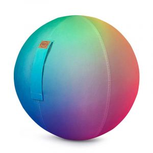 Sitting Ball Zitbal Rainbow 65cm