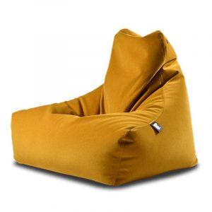 Extreme Lounging B-Bag Mighty-B Zitzak Suede - Mustard